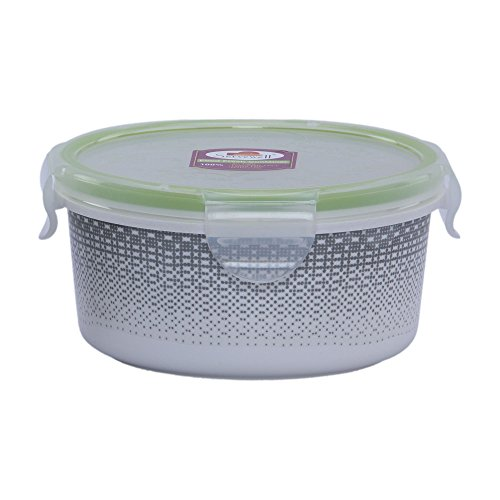 @home by Nilkamal Yellow Melamine Mesh Up Container  available at amazon for Rs.149