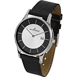 Jacques Lemans Unisex Watch London 1-1777F Analogue Display and Gold Leather