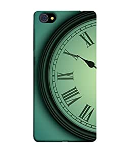 PrintVisa Designer Back Case Cover for Vivo X7 Plus (Wall Clock with Romen Numbers Classy Wonderful)