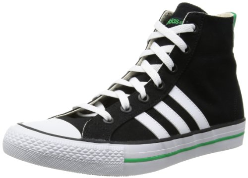 Adidas VLNEO 3 STRIPES Neo MID white green Black label Nero (nero)