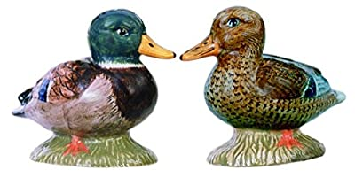 Quail Ceramics Mallard Salt & Pepper Pots from Quail Ceramics