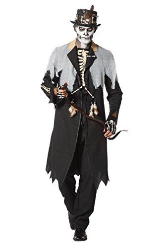 �m Voodoo Priester Karneval Halloween Gr.56 ()