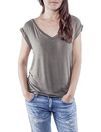 Ella Manue Frauen Rückenausschnitt Shirt Eva