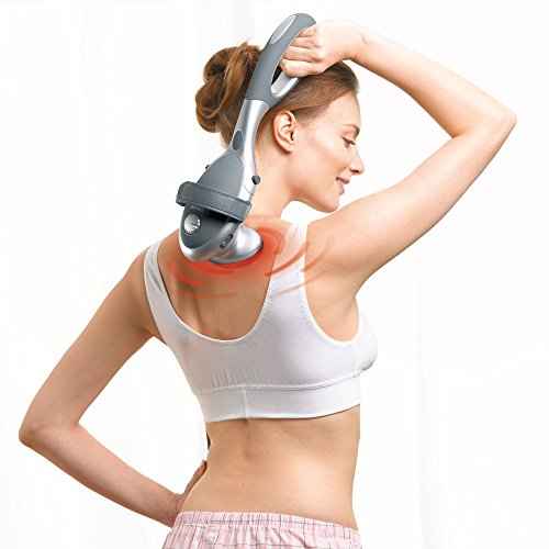 Beurer MG 70 Infrarot-Massagegerät, Klopfmassage, Rückenmassage und Beinmassage mit verschiedenen Aufsätzen -