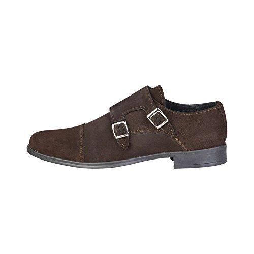 PIERRE CARDIN DANIEL Los Zapatos De Los Hombres Con La Hebilla Doble