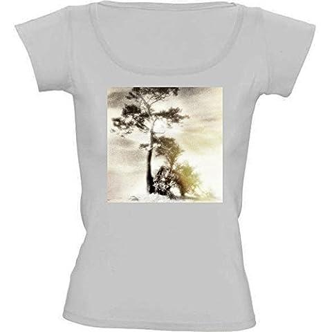 Camiseta Cuello Redondo para Mujer - Silencio De Muerte by LesImagesdeJon