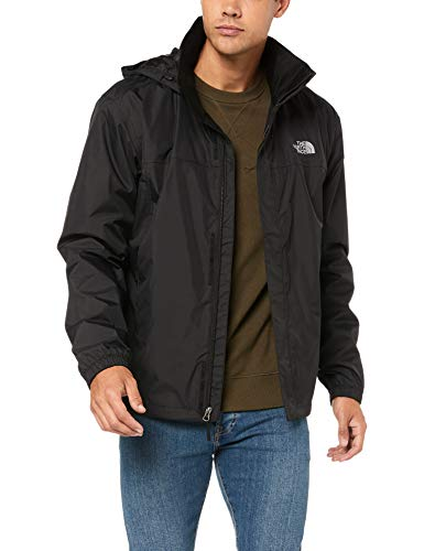 The North Face M Resolve 2 Chaqueta, Hombre, Negro (Tnf Blk/Tnf Blk),...