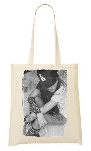 tes Style Full Cap Hipster Girl Tragetasche Einkaufstasche ()