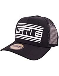 Wati B - Casquette Trucker Homme Cont Truck - Black / White