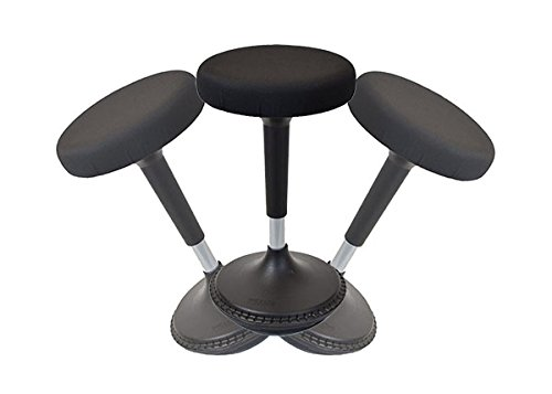 Para ejercicios de equilibrio taburete altura ajustable activo sentado silla de oficina...
