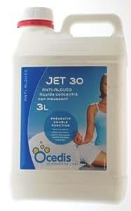 Anti Algues Curatif Piscine Jet30 3L - Ocedis