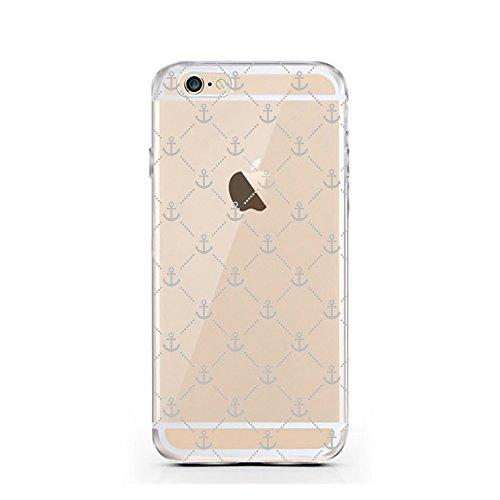 iPhone 7 Hülle von licaso® für das Apple iPhone 7 aus TPU Silikon I saw that Karma Muster ultra-dünn schützt Dein iPhone 7 & ist stylisch Schutzhülle Bumper in einem (iPhone 7, I saw that Karma) Anker