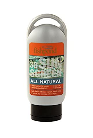Fishpond All Natural Organic Sunscreen Lotion SPF 30 2oz UVA/UVB Protection by FishPond