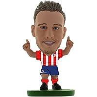 Soccerstarz SOC1094 Atletico Madrid Saul Niguez - Figura Decorativa clásica