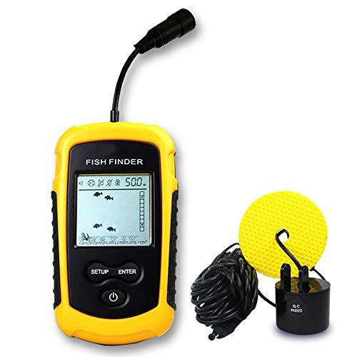 FXQ Tragbarer verdrahteter Fischdetektor-Sonar-Sensor Fischabsaugungs- und Handheld-LCD-Monitor, wasserdichtes Design der Stufe 4, High Definition Handheld-lcd-monitor