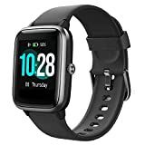 Willful Smartwatch,1.3 Zoll Touch-Farbdisplay Fitness Armbanduhr mit Pulsuhr Fitness Tracker IP68 Wasserdicht Sportuhr Smart Watch mit Schrittzähler,Schlafmonitor,Stoppuhr für Damen Herren Kinder