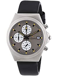 Tectonic 41-6904-84 - Reloj de cuarzo unisex, color negro