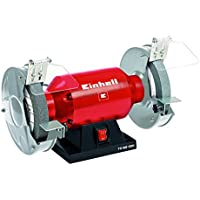 Einhell TH-BG 200 - Esmeriladora, disco 200 mm, 400 W, 230 V, color rojo y negro