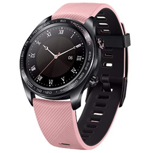 LRWEY Fitness Smart Watch, Huawei Honor Watch Dream Smart Watch Sport Sleep Run Radfahren Schwimmen GPS 1,2 Zoll AMOLED Farbbildschirm, für iOS Android