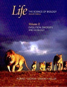 Life: The Science of Biology: Volume II: Evolution, Diversity, and Ecology by William K. Purves (2003-12-08)