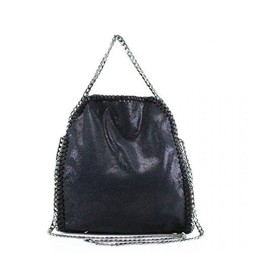 YourDezire , Damen Tote-Tasche schwarz schwarz