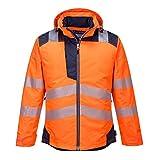 Portwest t400obrxl Vision pluie et veste haute visibilité, Orange, XL