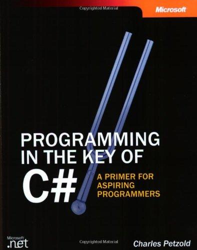 Preisvergleich Produktbild Programming in the Key of C : A Primer for Aspiring Programmers: A Primer for Aspiring Programmers (Step by Step)