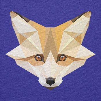 TEXLAB - Foxy Polygons - Herren T-Shirt Marine