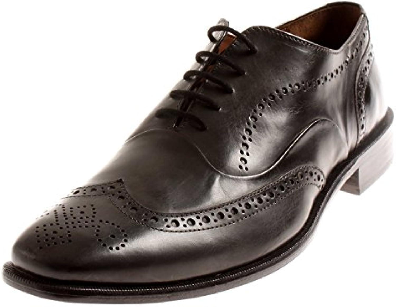 Manz Herrenschuhe Schnürschuhe Leder Schuhe Business