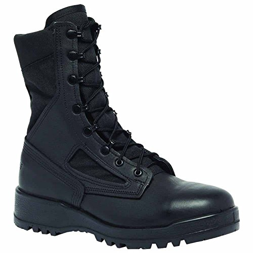 Steel Toe Black Tactical Boot (Belleville 300TROPST Hot Weather Steel Toe Combat Boot, Black, Size 14.5W)