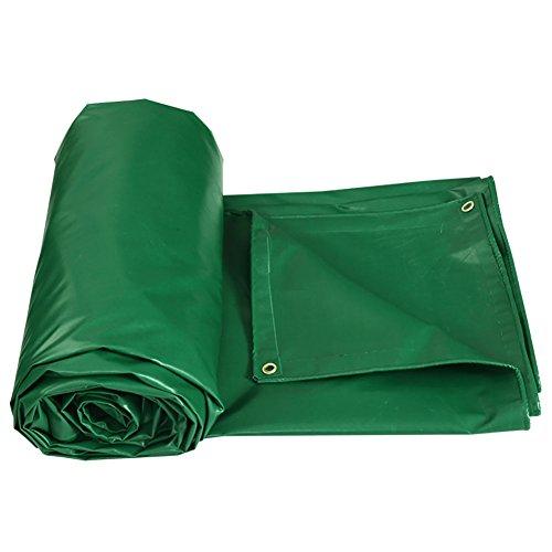 XUEYAN Große verdicken Sie Wasserdichte Plane-schwere Zelt-Spleiß-Markise-Sonnenschatten-Plane Boden-Blatt-Abdeckungen für kampierende Maschine Fischen-Grün, 450 G/M ² (größe : 5 * 4m)