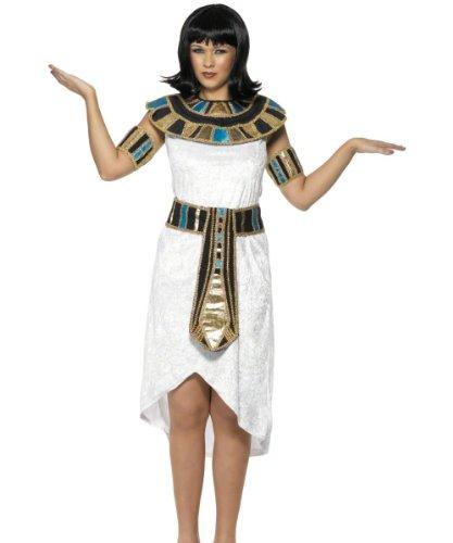 Smiffy's - Sexy Ägyptische Lady Kleid Kostüm Ägypterin Antik 40/42 (Ägyptische Kleid)