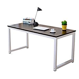 Holz modern ecke computer pc schreibtisch home office for Computer schreibtisch ecke