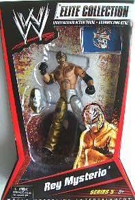 Wwe Catch Figurine Rey Mysterio Nouveauté Mattel Collection Elite Serie 5