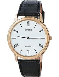 Citizen Eco-Drive Analog White Dial Men's Watch - AR1113-12B