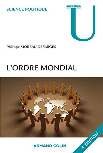 L'ordre mondial par Philippe Moreau Defarges