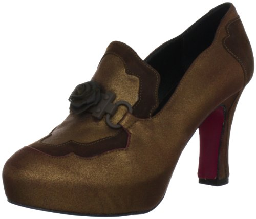 Beverly Feldman Wonderful 50088, Damen Klassische Pumps, Braun (Brown Suede), EU 36