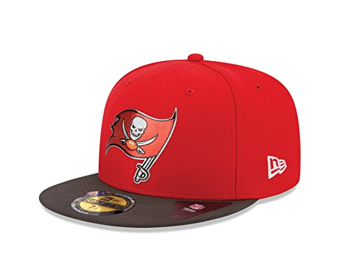 New Era 2015NFL Draft On Stage 59Fifty Fitted Cap, unisex, rot Nfl-draft 2015