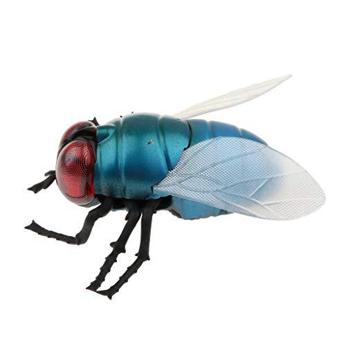 Fenteer Ferngesteuert / Fernbedienung Spielzeug RC Tiere mit Fliegen Figur, aus Plastik