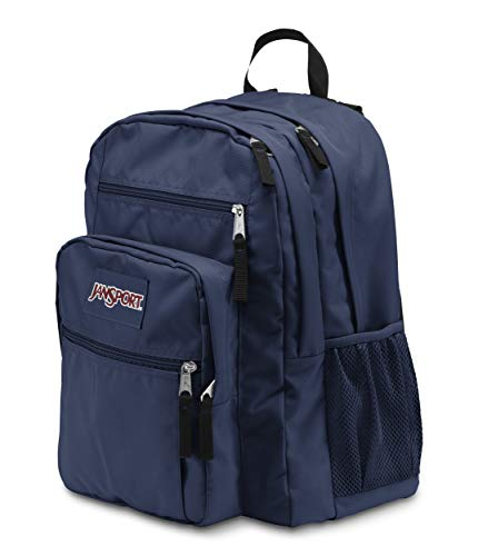 JanSport Big Student Backpack (Navy) (Navy Blue) Image 4