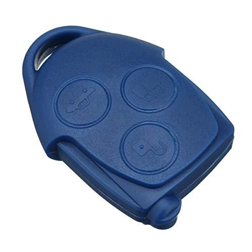 Preisvergleich Produktbild Viviance 3 Buttons Remote Key Case Shell Mit Vl2330 Batterie Für Ford Transit Mk7