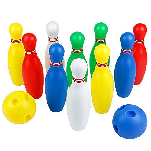 nteraktive Kegelspiel Spielzeug Bowling-Set für Kinder 3 Jahre und Bis (Groß) (Mehrweg) ()
