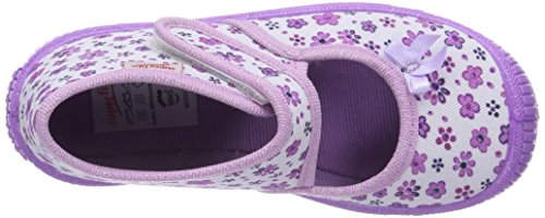 Superfit BULLY, Chaussons hauts, non doublés fille Violet - Violett (WEISS KOMBI 51)