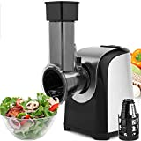 Simlive Electric Salad Maker Food Grater Slicer with 4 Cone Blades for Fruits