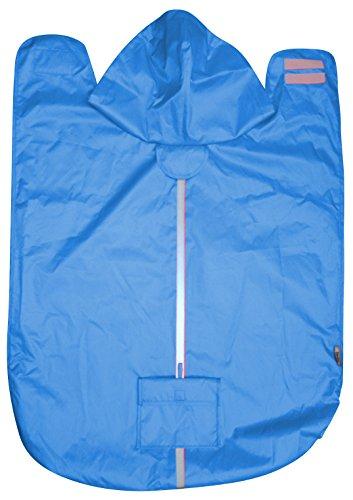 Wasserdichter Hunde-Regenmantel,Blau