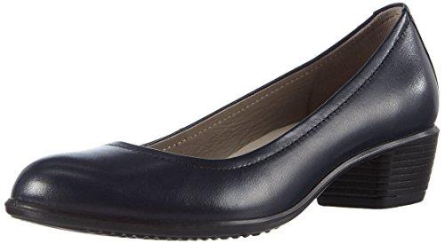 Ecco Touch 35, Chaussures Femme À Talon Bleu (marine 1038)