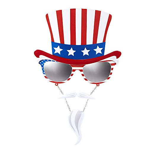 WIDMANN Kit de Gafas del Tío Sam para Adulto