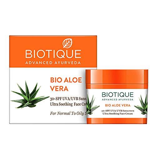 Bio Aloe Vera Gesicht und Körper Sonnencreme LSF 30 UVA / UVB-Sonnenschutz