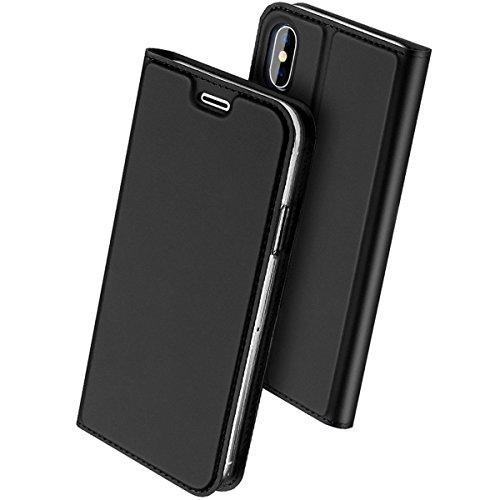 coque rabatable iphone x