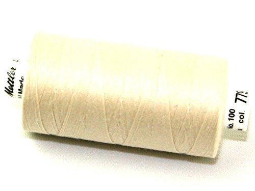 Mettler-Seralon Polyester Allgemeine Nähgarn 1000m 1000m 779Kiefer Mutter, Pro Spule + Gratis Minerva Crafts Craft Guide (Nähgarn Kiefer)